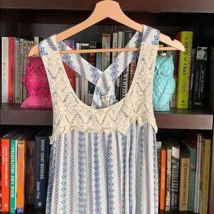 Boho Racerback Dress